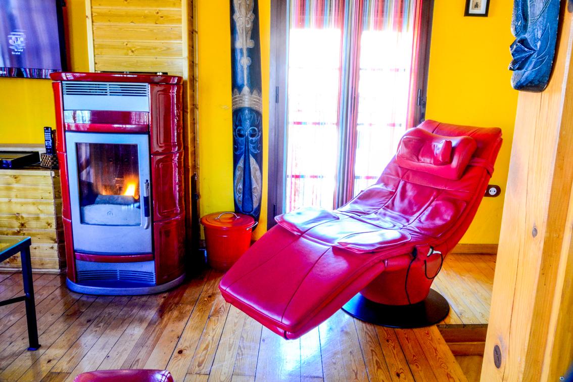 Suite love el mirador y relax - Sillon home cinema ...